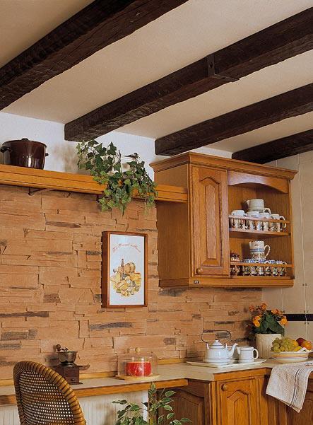 Grupo sindec vigas imitaci n a madera - Techos de madera rusticos ...
