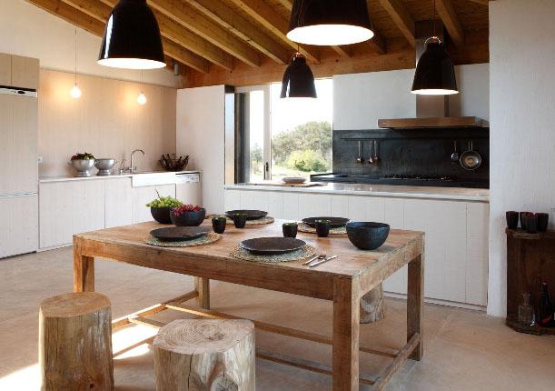 Grupo sindec vigas imitaci n a madera - Lamparas para techos con vigas de madera ...